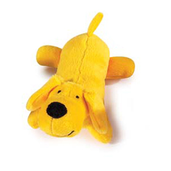 Zanies Neon Lil' Yelpers Dog Toy - Sunny Yellow