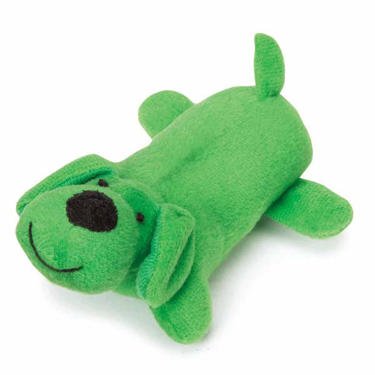 Zanies Neon Yelpers Dog Toy - Green
