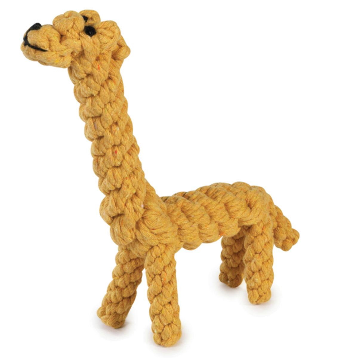 Zanies Rope Menagerie Dog Toy - Giraffe
