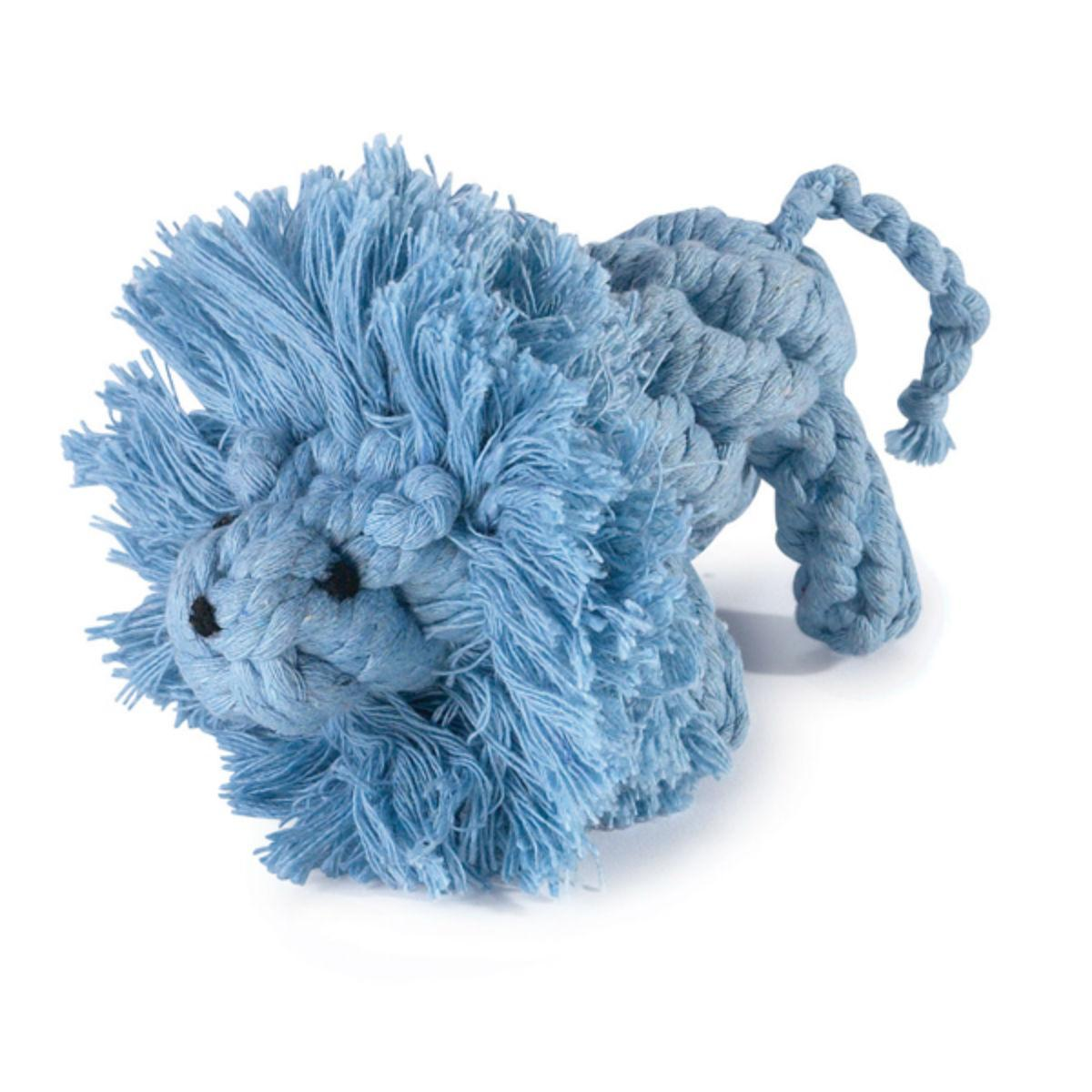 Zanies Rope Menagerie Dog Toy - Lion