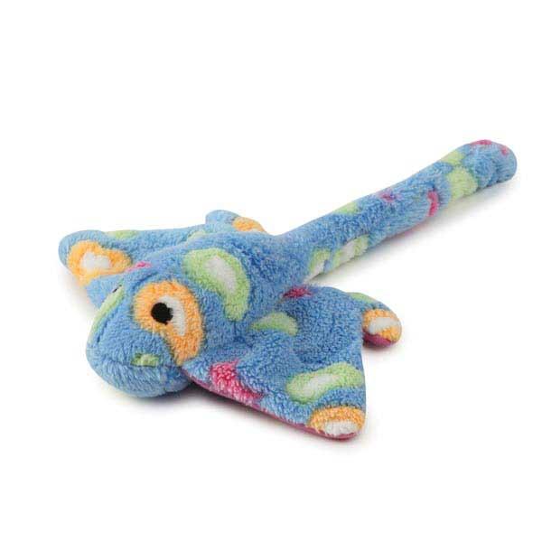 Zanies Sea Charmers Dog Toy - Blue Stingray