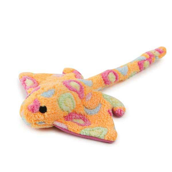 Zanies Sea Charmers Dog Toy - Peach Stingray