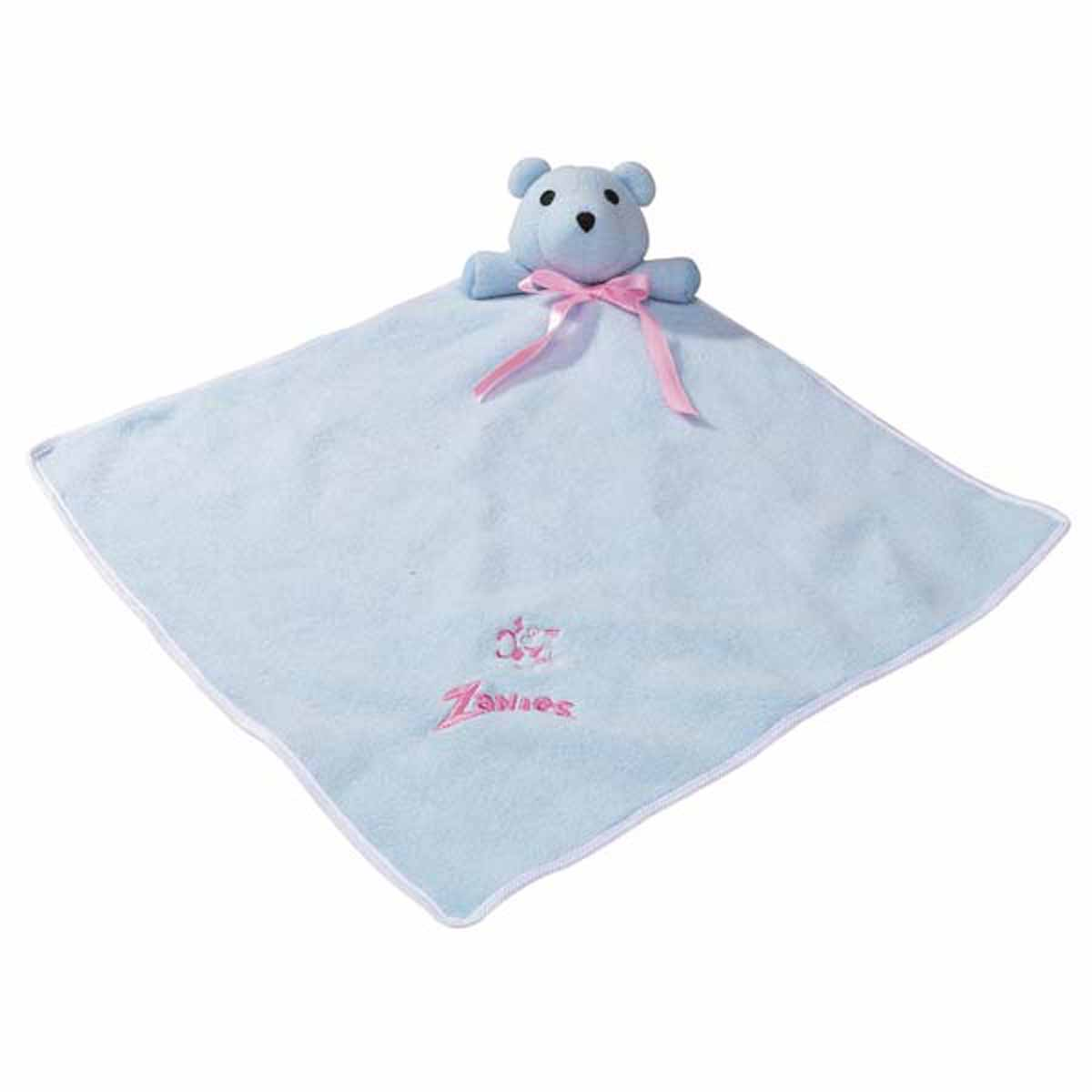 Zanies Snuggle Bear Puppy Blanket - Baby Blue
