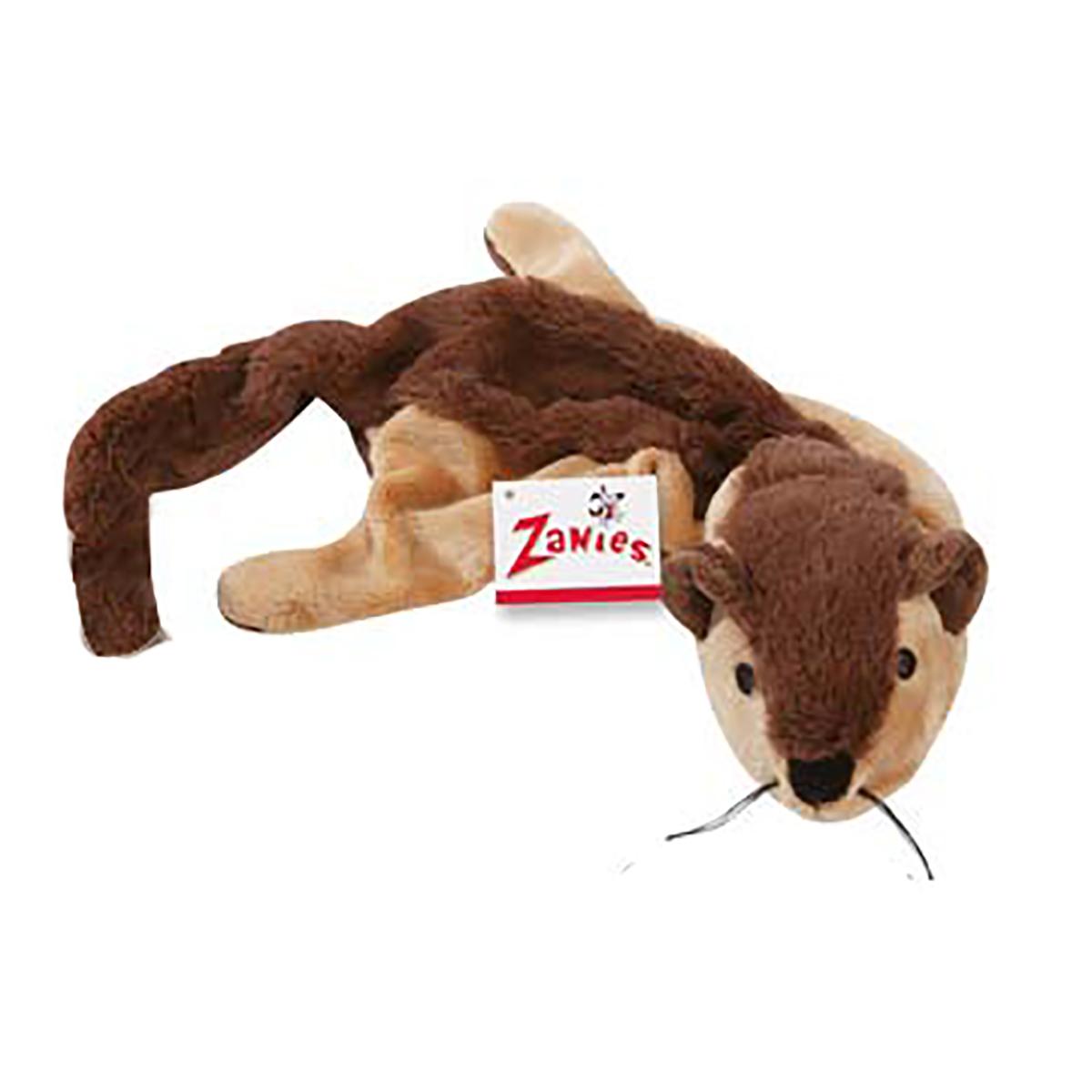 Zanies Unstuffies Critter Dog Toy - Chipmunk