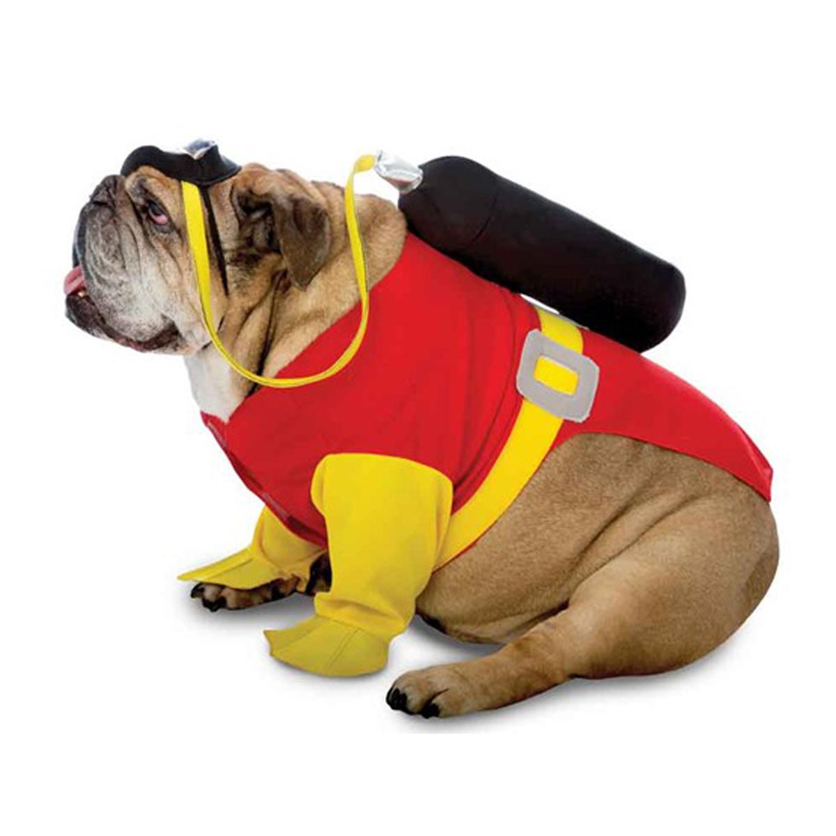 zelda scuba halloween dog costume
