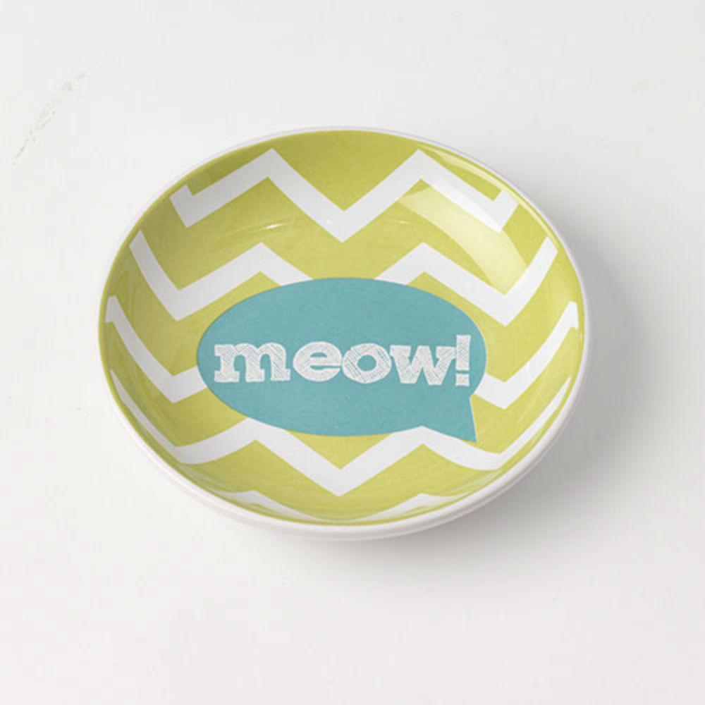 Zigazaga Meow Cat Food Saucer