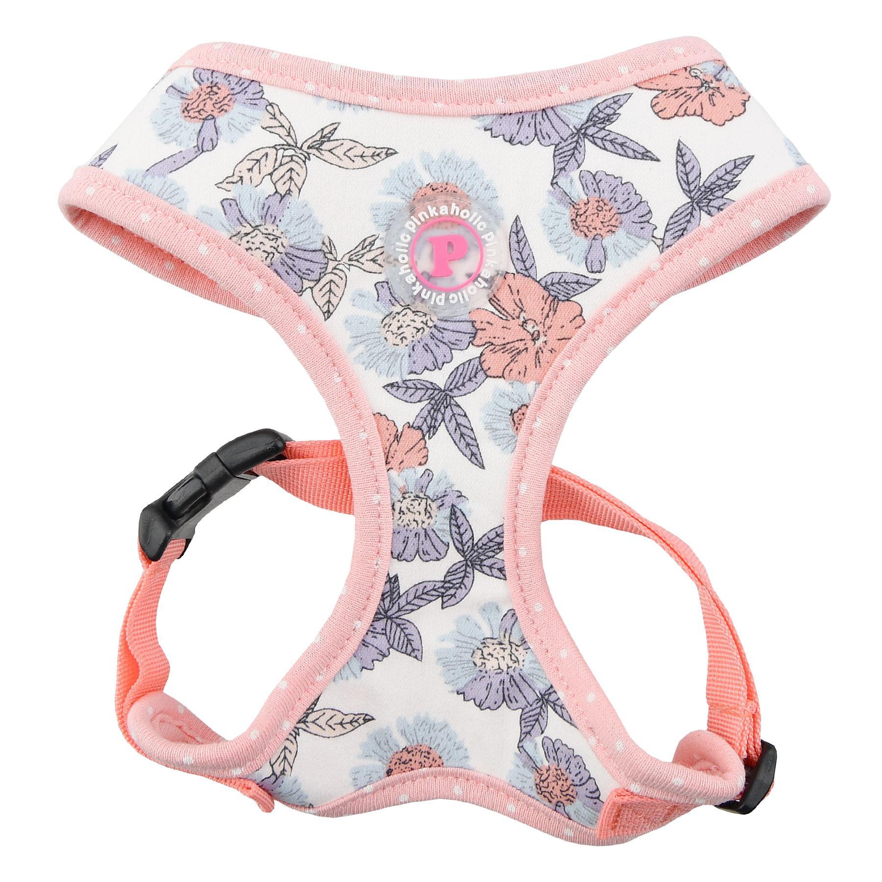 Zinnia Basic Style Dog Harness by Pinkaholic - Ivory