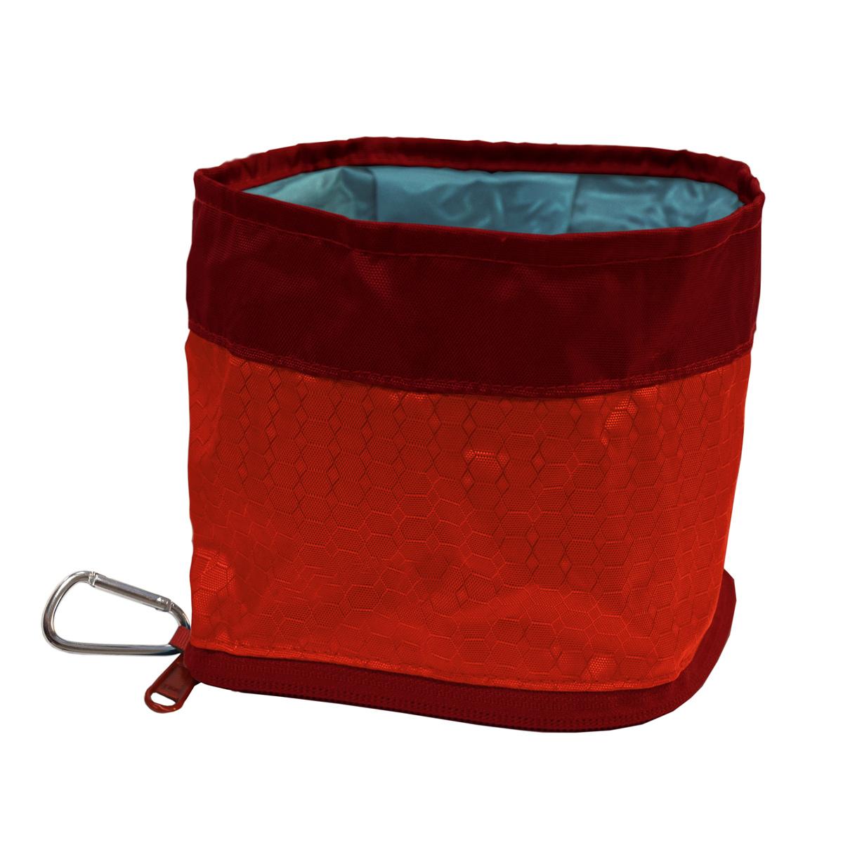 Zippy Dog Bowl by Kurgo - Barn Red