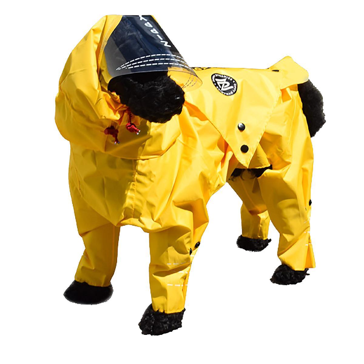 Zippy Dynamics Rainy Full-Body Dog Rainsuit