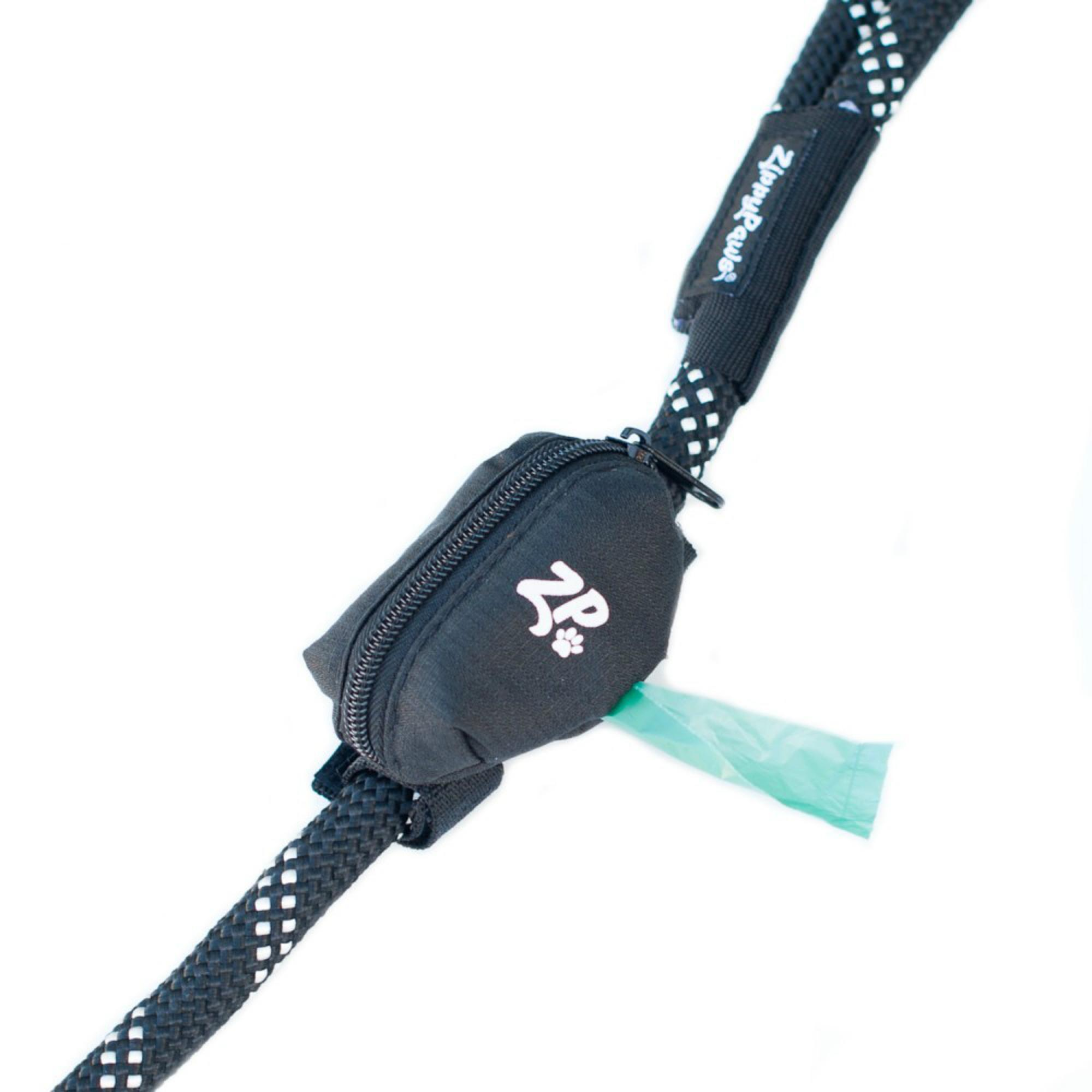 ZippyPaws Adventure Dog Leash Bag - Volcano Black
