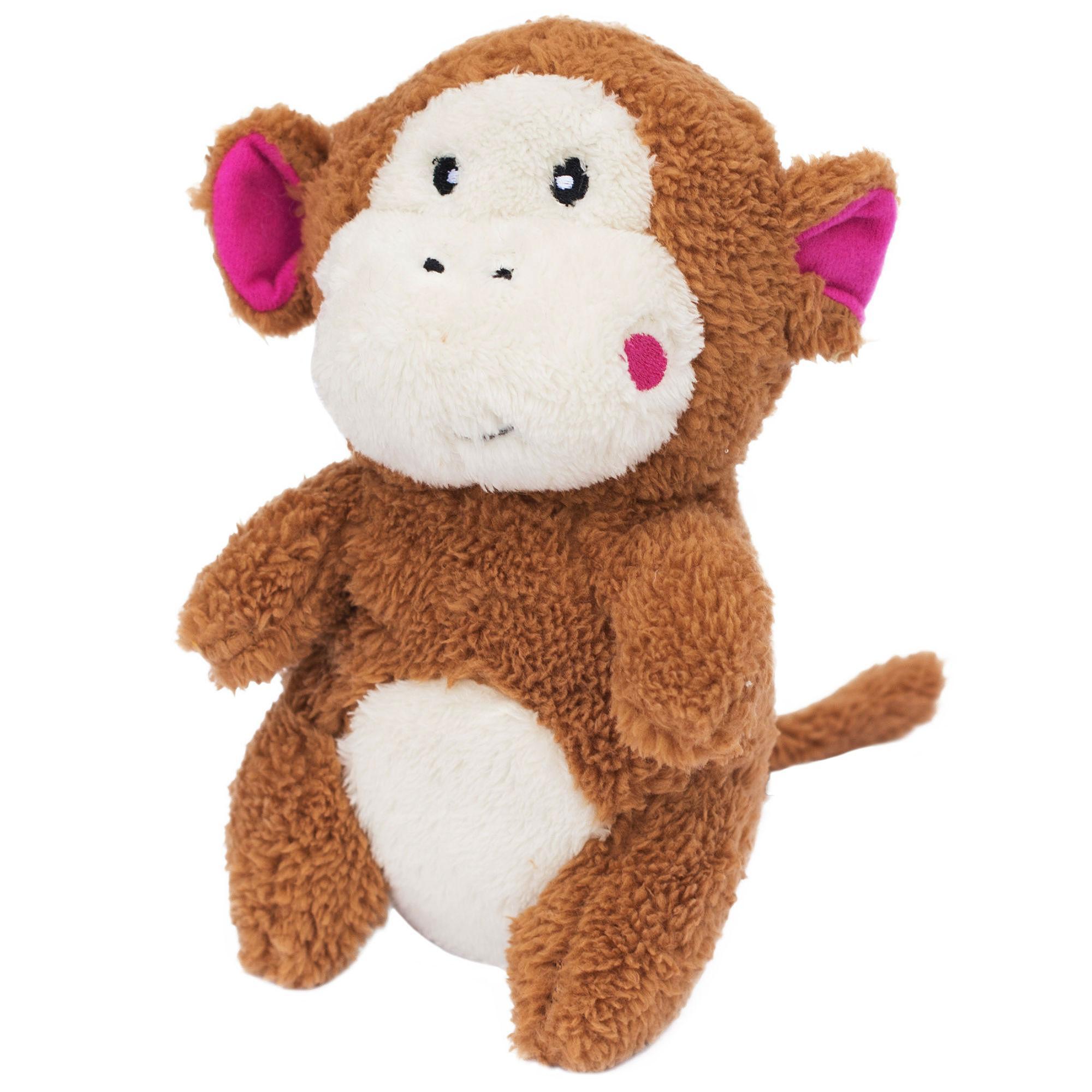 ZippyPaws Cheeky Chumz Dog Toy - Monkey