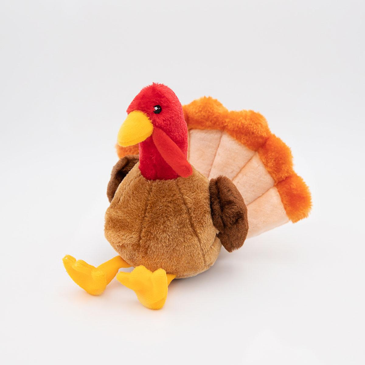 ZippyPaws Dog Toy - Tucker the Turkey