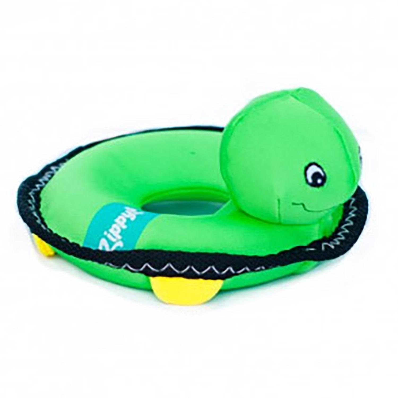 ZippyPaws Floaterz with Z-Stitch Dog Toy - Turtle