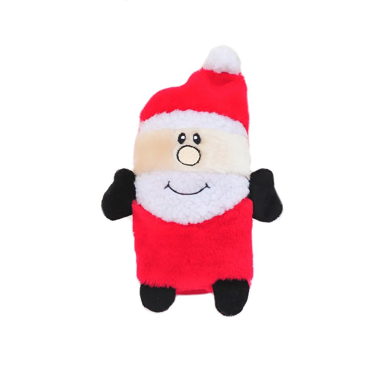 ZippyPaws Holiday Colossal Buddie Dog Toy - Santa
