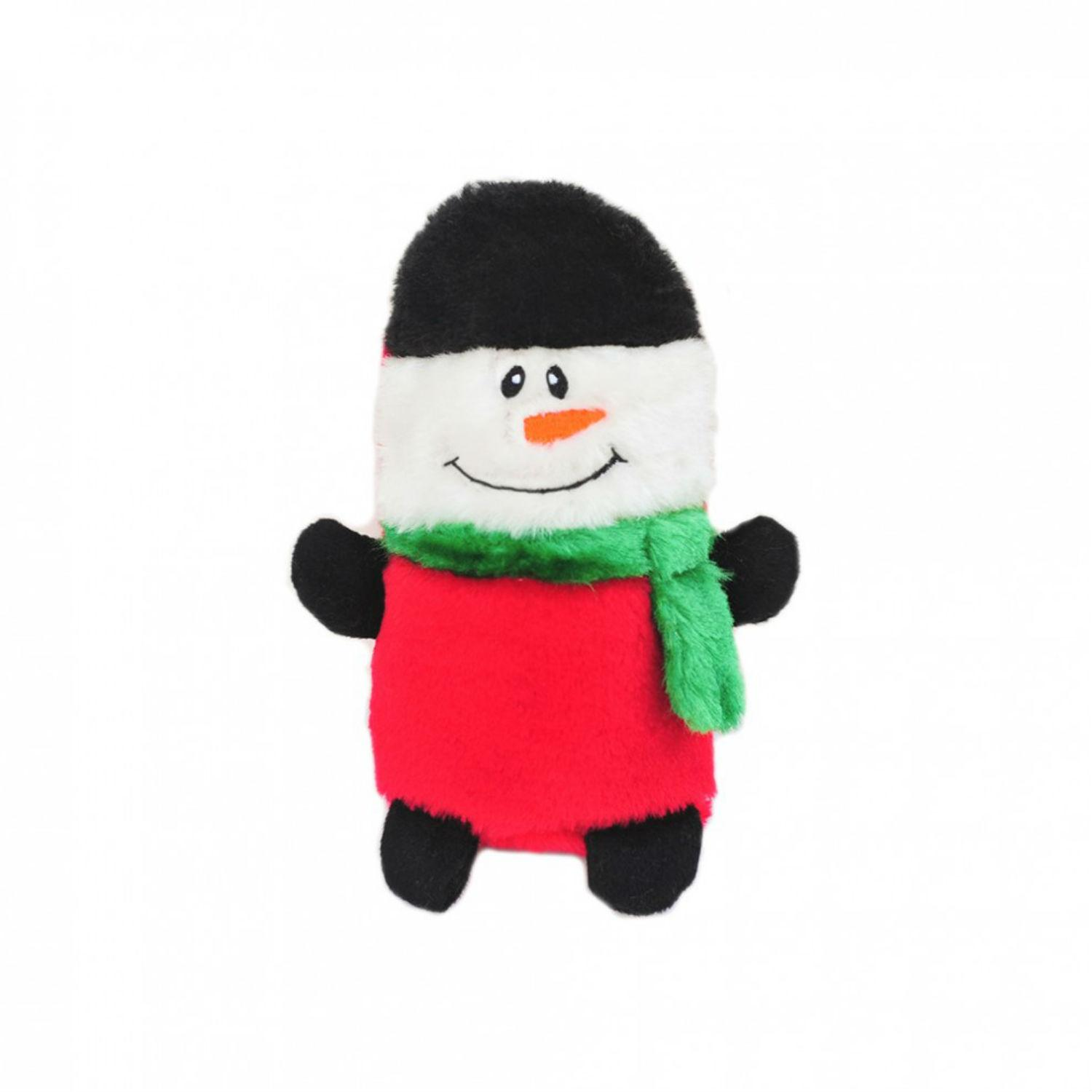 ZippyPaws Holiday Colossal Buddie Dog Toy - Snowman