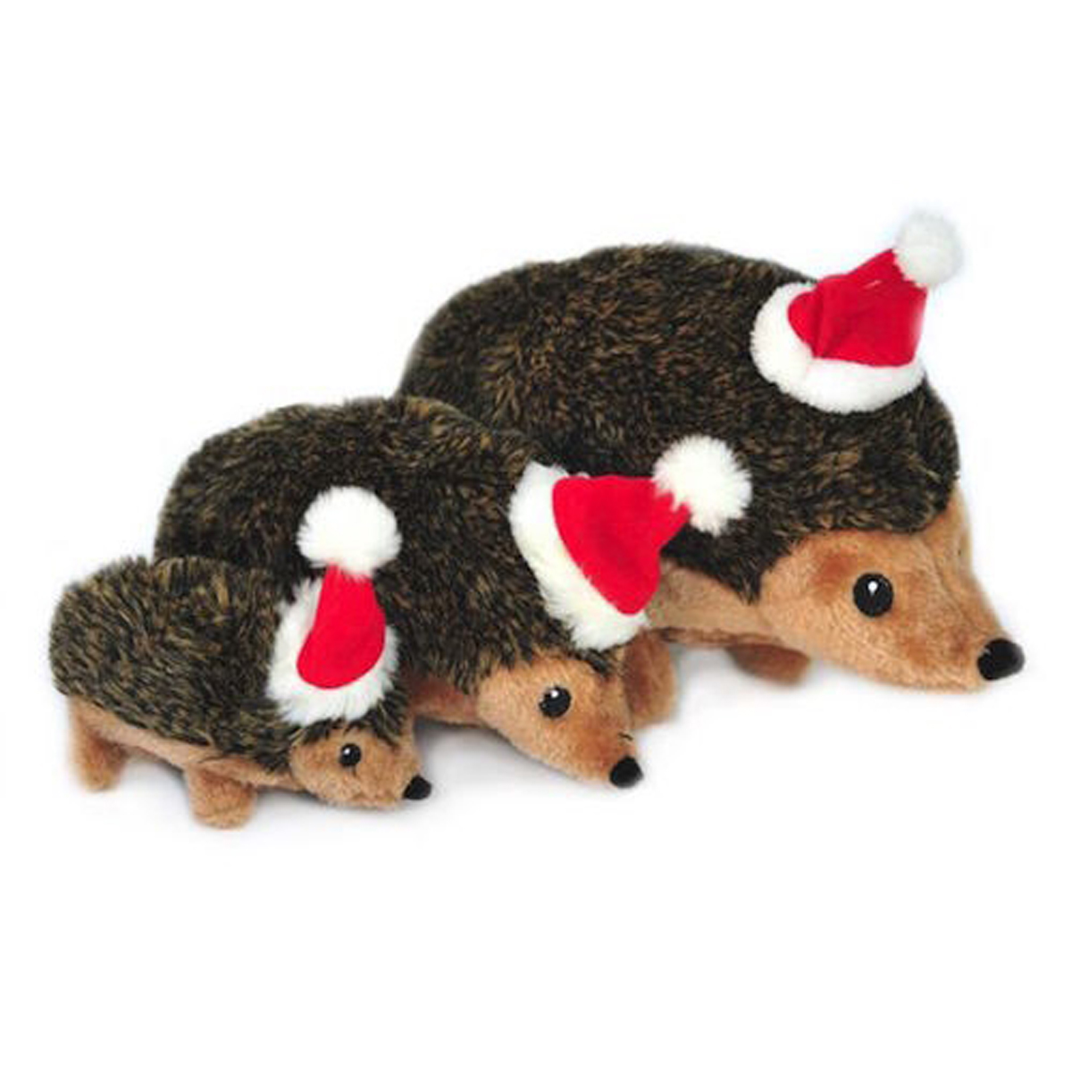 ZippyPaws Holiday Hedgehog Dog Toy