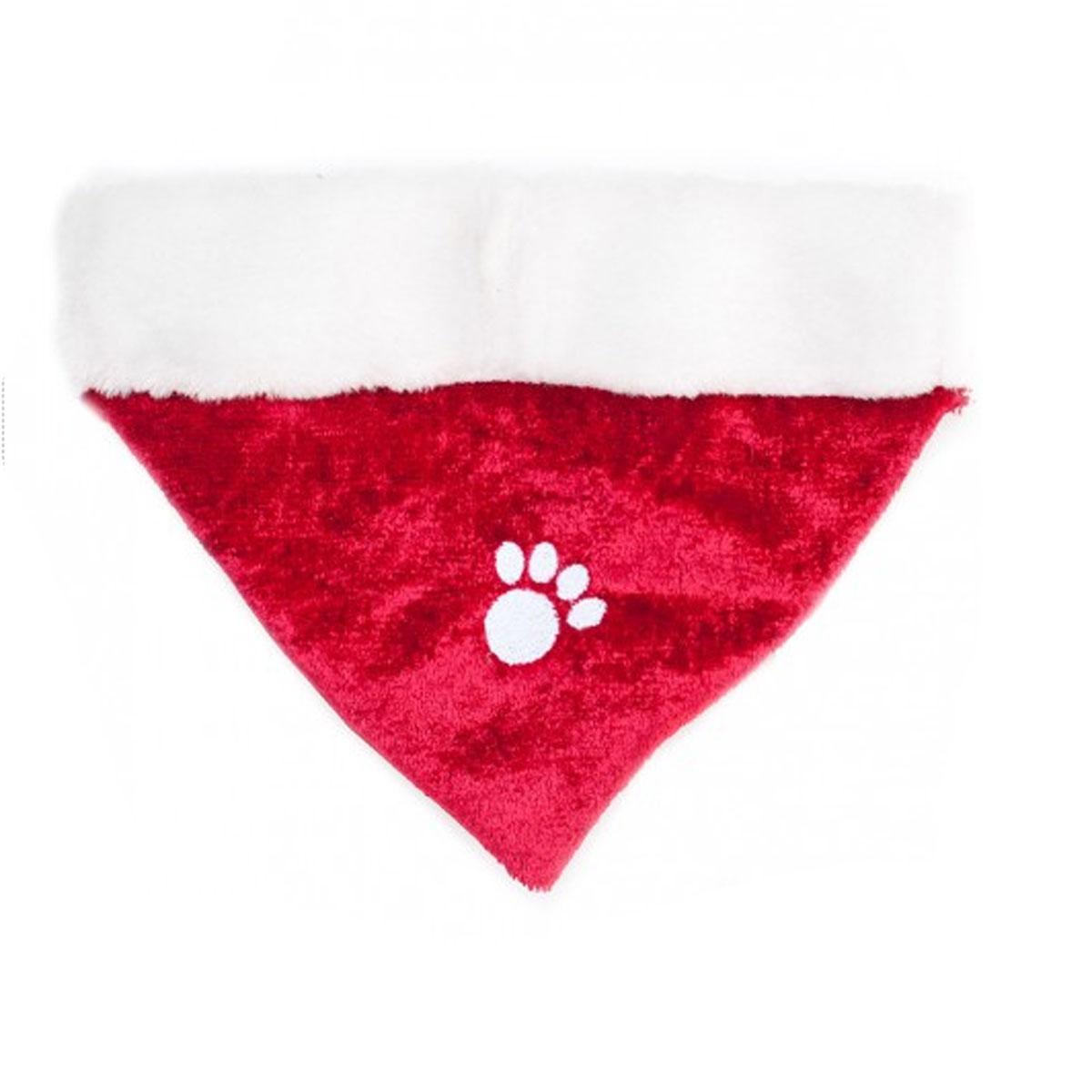 ZippyPaws Holiday Paw Dog Bandana - Red