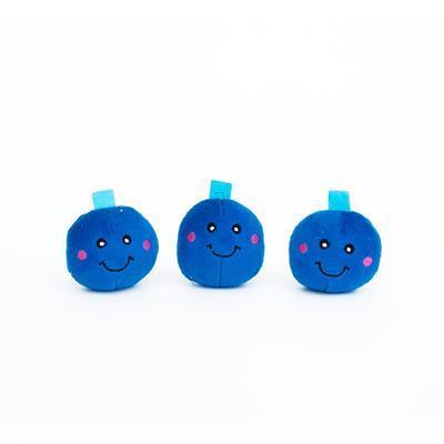 ZippyPaws Miniz Dog Toys - Blueberries