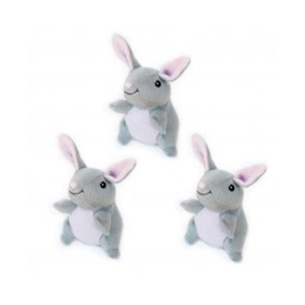 ZippyPaws Miniz Dog Toys - Bunnies
