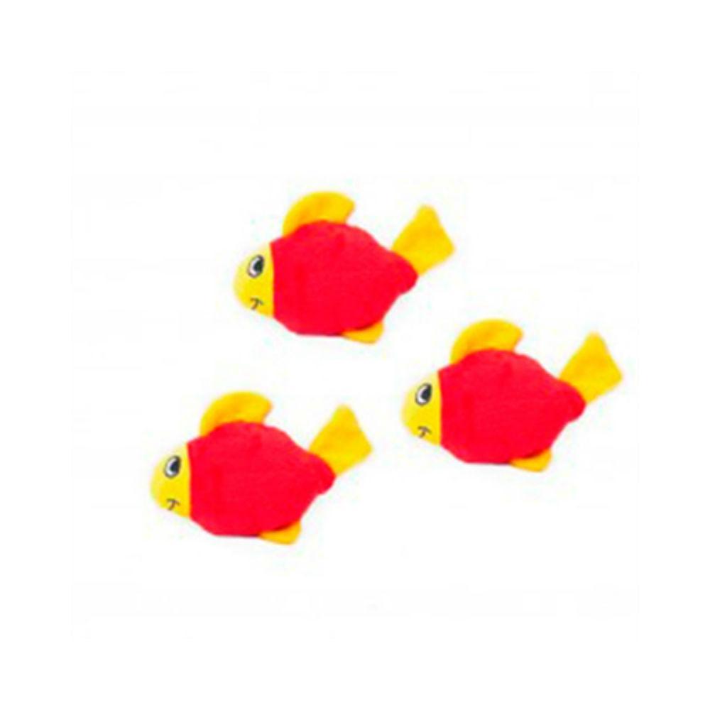 ZippyPaws Miniz Dog Toys - Fish