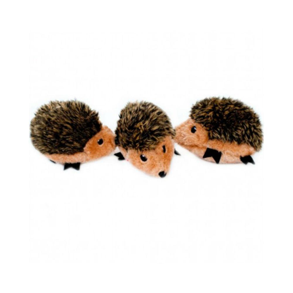 ZippyPaws Miniz Dog Toys - Hedgehogs