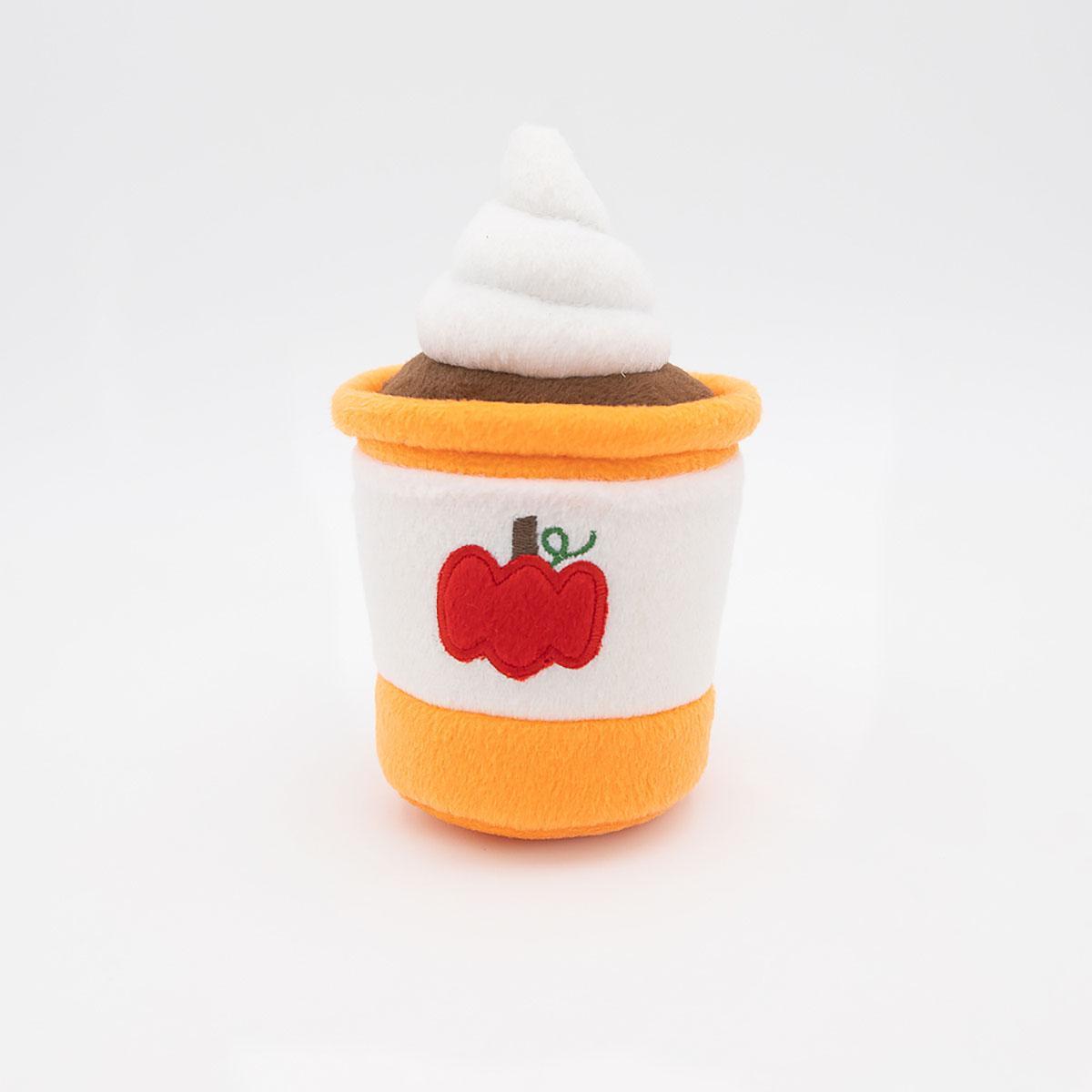 ZippyPaws NomNomz Dog Toy - Pumpkin Spice Latte