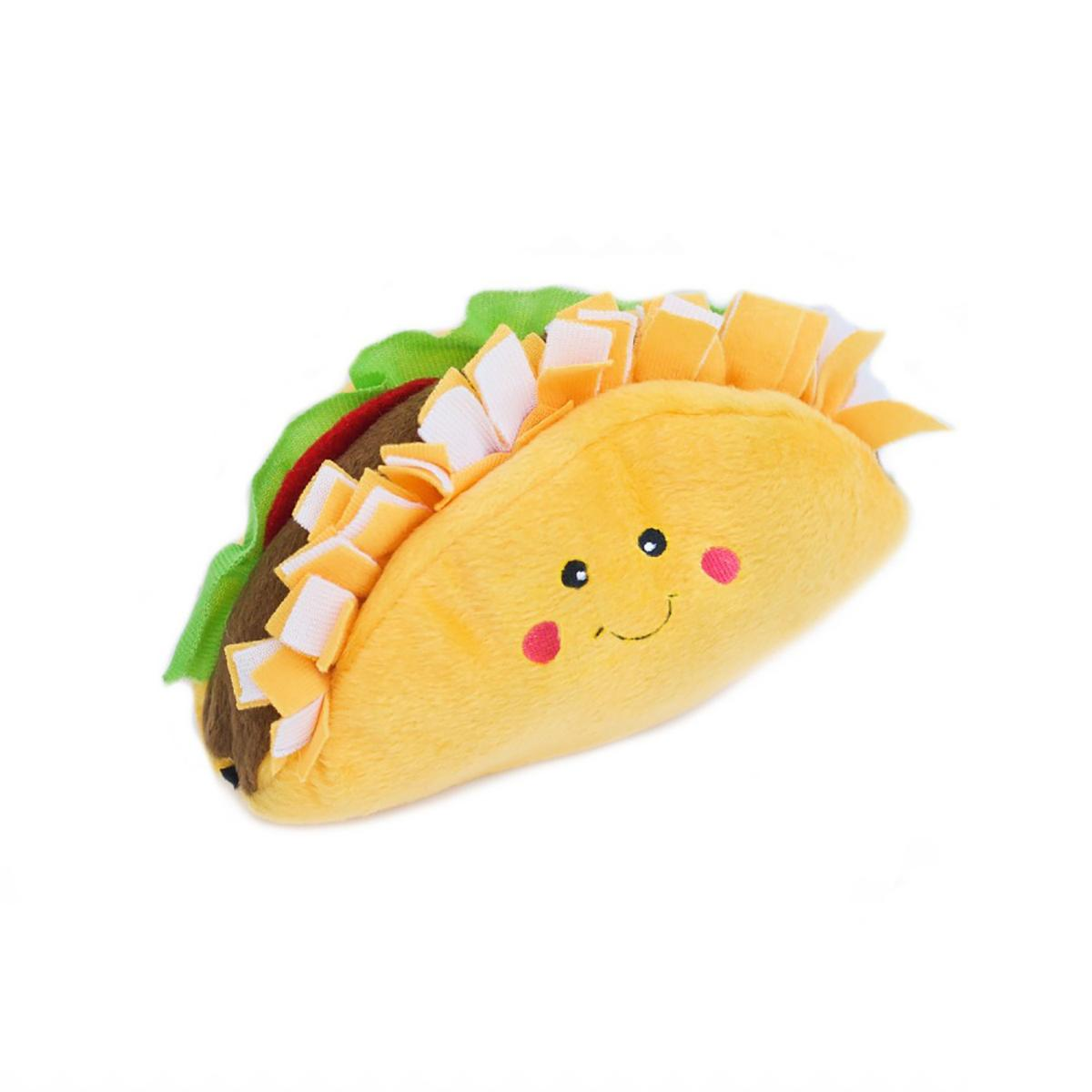 ZippyPaws NomNomz Dog Toy - Taco