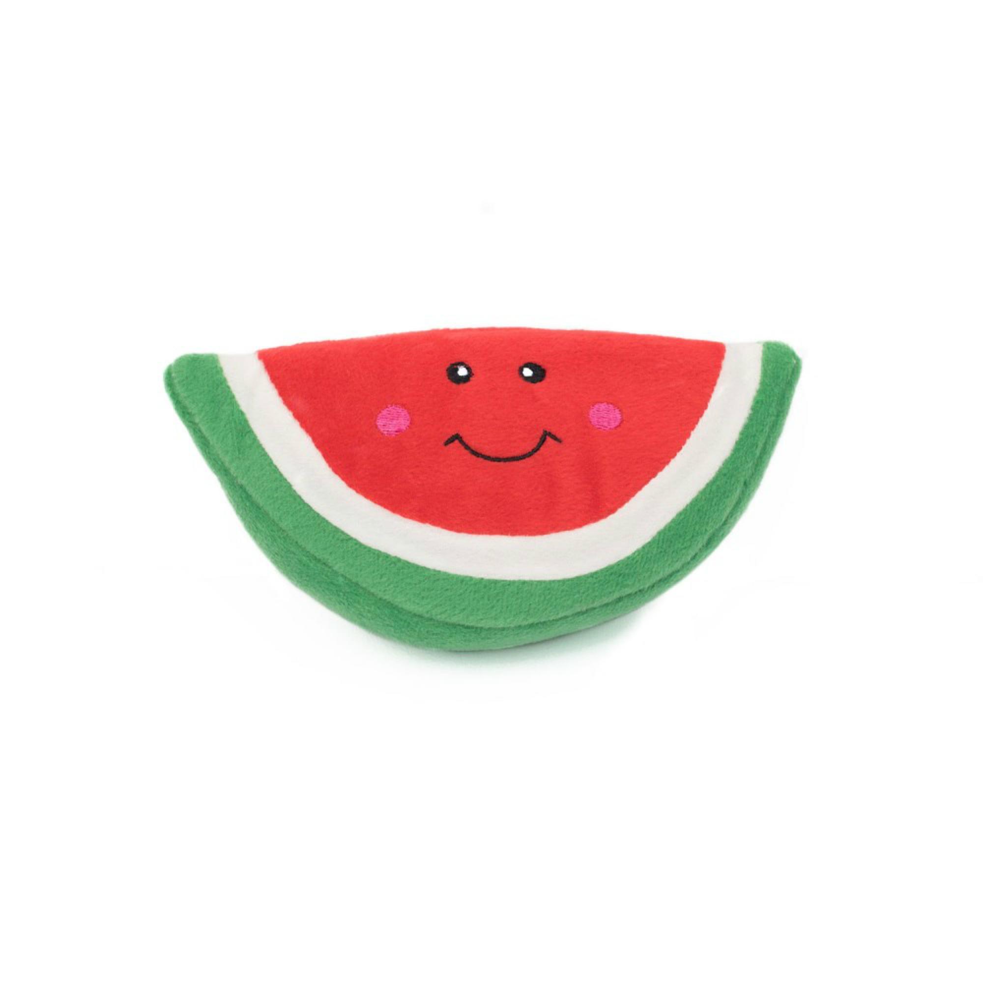ZippyPaws NomNomz Dog Toy - Watermelon