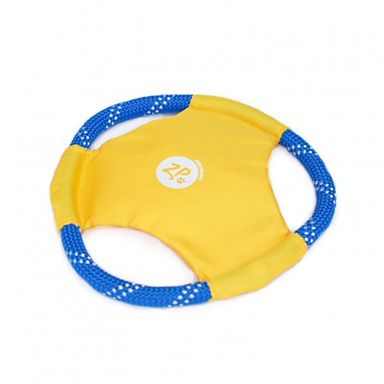 ZippyPaws Rope Gliderz Dog Toy - Yellow