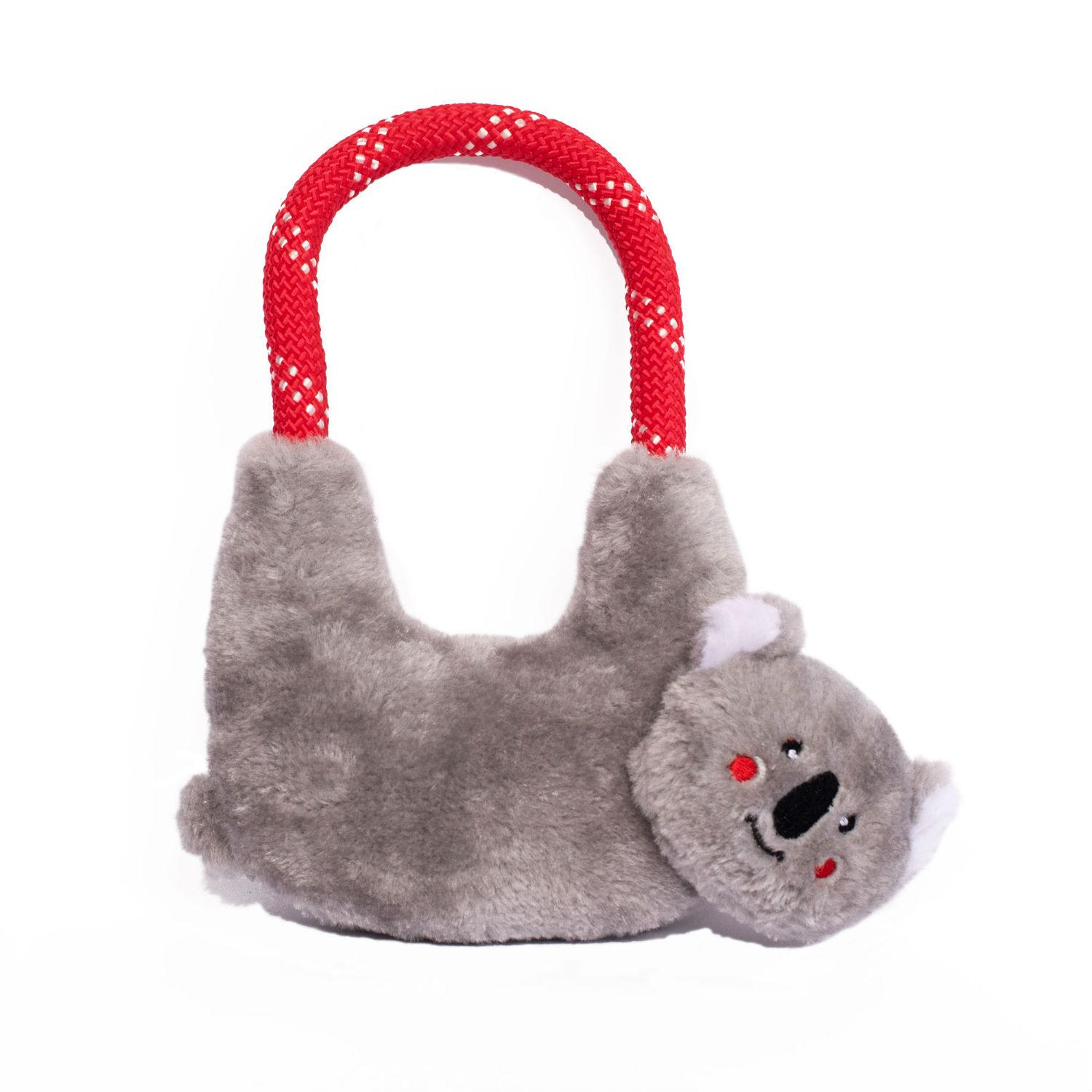 ZippyPaws Rope Hangerz  Dog Toy - Koala