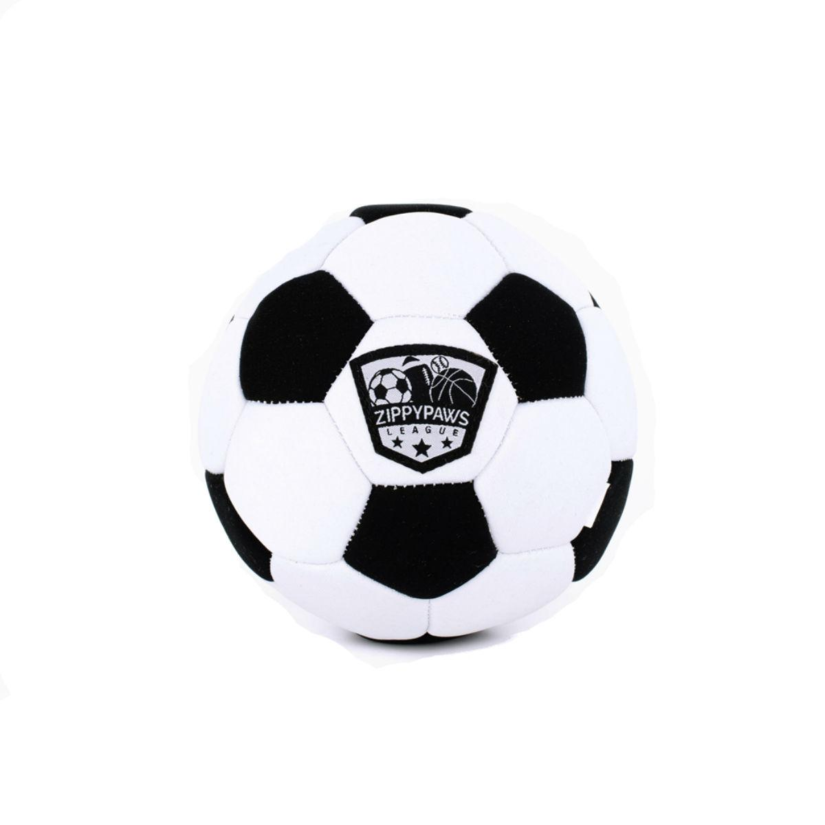 ZippyPaws SportsBallz Dog Toy - Soccer