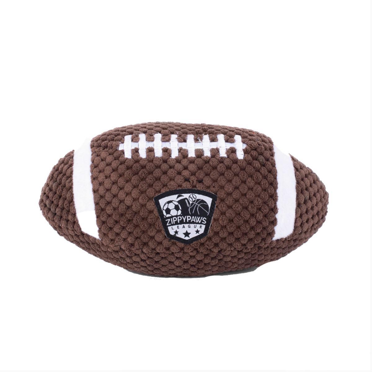 ZippyPaws SportsBallz Dog Toy - Football