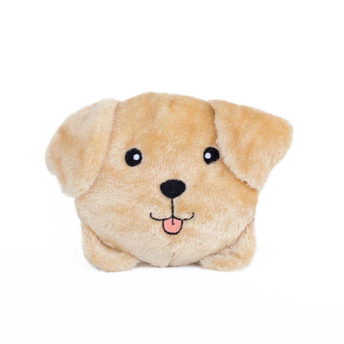 ZippyPaws Squeaky Buns Dog Toy - Yellow Lab
