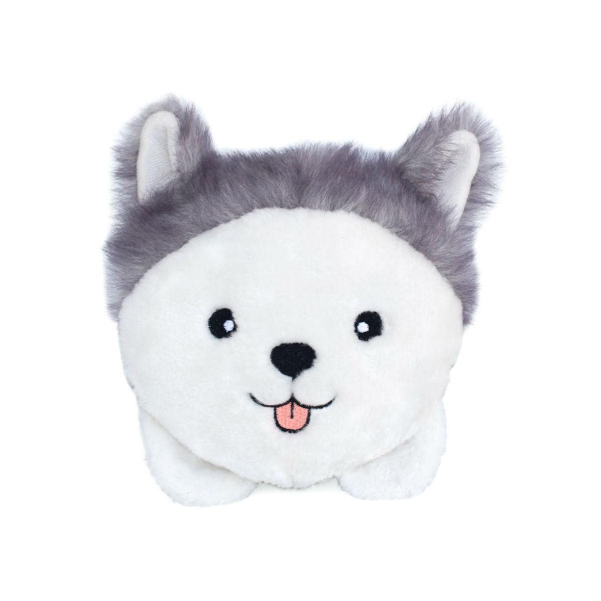 ZippyPaws Squeaky Buns Dog Toy - Husky