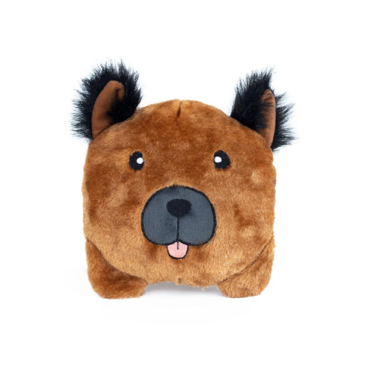 ZippyPaws Squeaky Buns Dog Toy - German Shepherd
