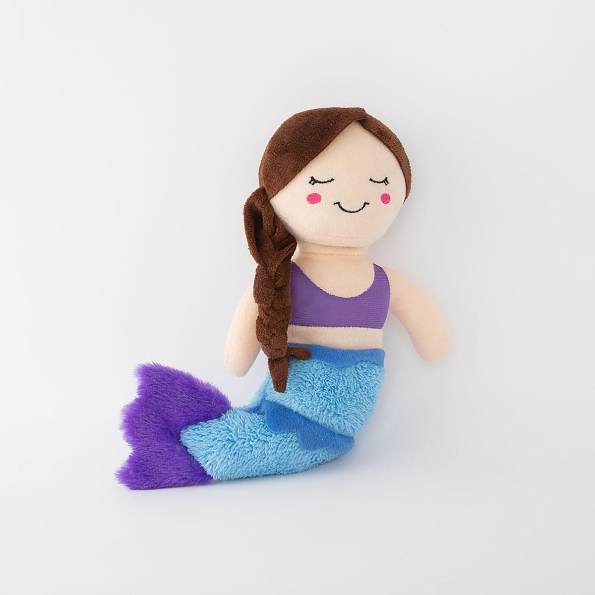 ZippyPaws Storybook Snugglerz Dog Toy - Maddy the Mermaid