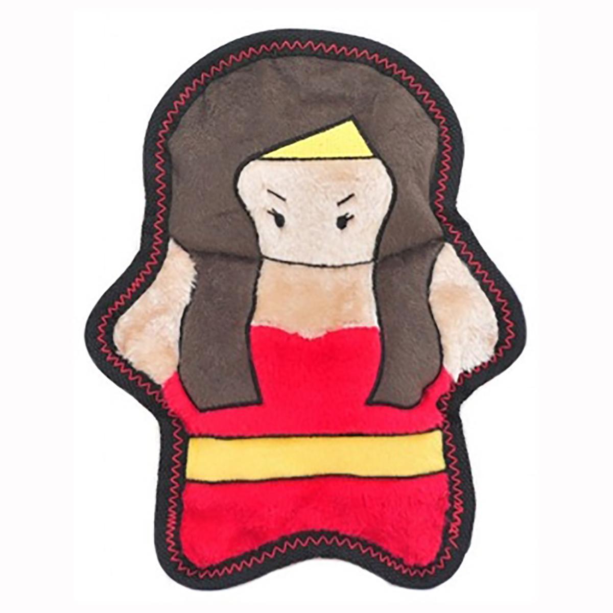 ZippyPaws Warriorz with Z-Stitch Dog Toy - Helena the Heroine