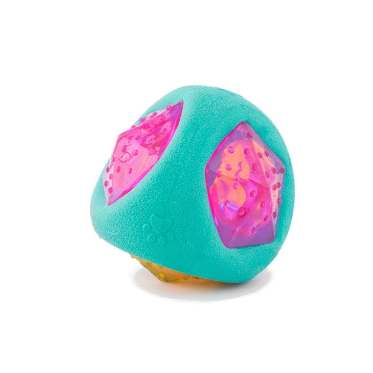 ZippyTuff LED Light Up Ball Dog Toy