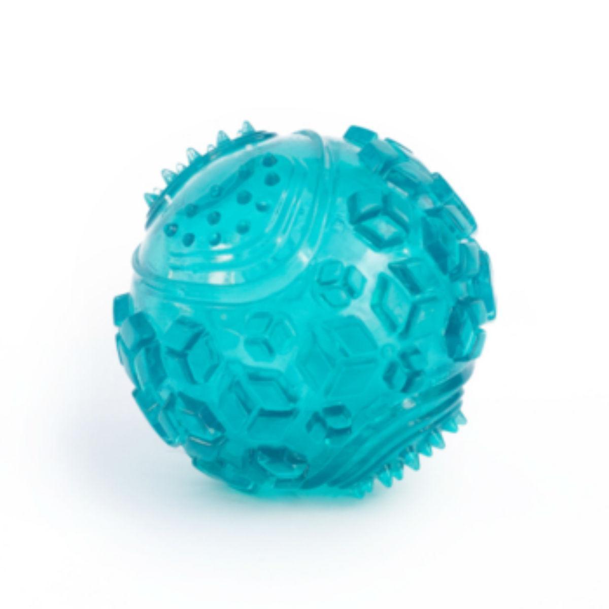 ZippyTuff Squeaker Ball Dog Toy - Teal