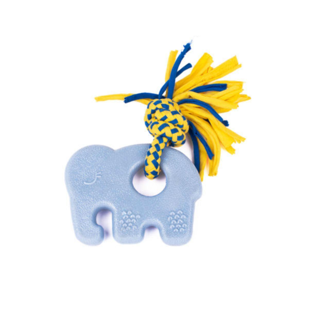 ZippyTuff Teetherz Dog Toy - Elliot the Elephant