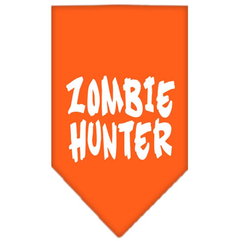 Zombie Hunter Dog Bandana - Orange