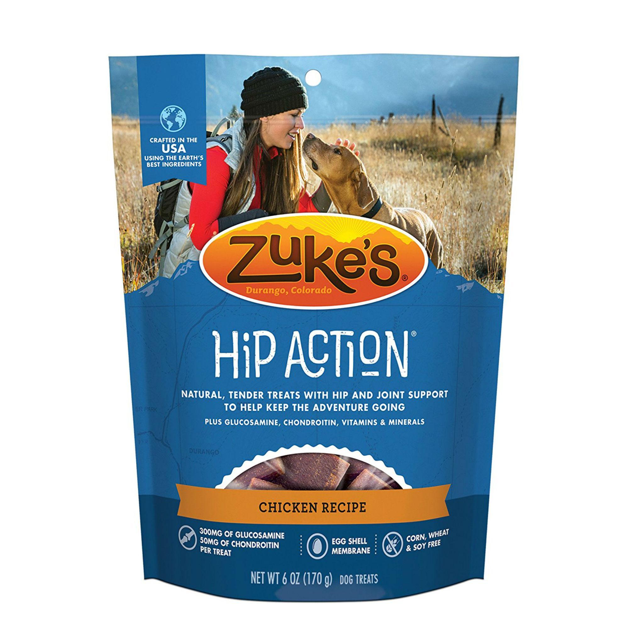 Zuke's Hip Action Support Dog Treats - Chicken
