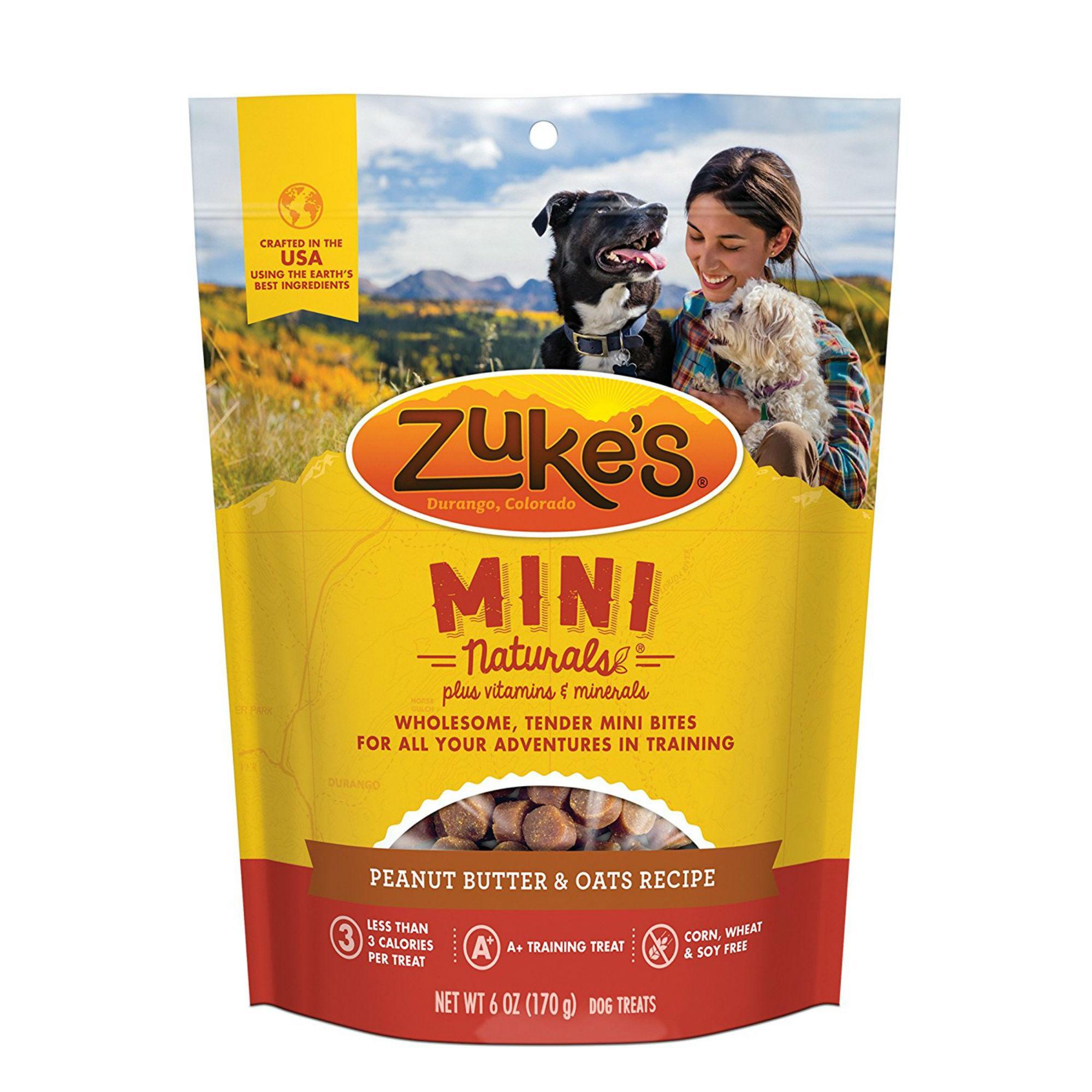 Zuke's Mini Naturals Dog Treats - Peanut Butter
