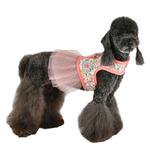 View Image 4 of  Begonia Flirt Dog Harness Dress by Pinkaholic - Pink