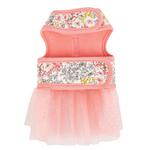 View Image 2 of  Begonia Flirt Dog Harness Dress by Pinkaholic - Pink