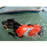 View Image 3 of Canine Dog Lifejacket - Orange
