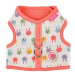 View Image 1 of Hopper Pinka Dog Harness by Pinkaholic - Indian Pink