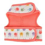 View Image 2 of Hopper Pinka Dog Harness by Pinkaholic - Indian Pink