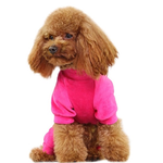 View Image 4 of Velour Dog Pajamas by Dobaz - Hot Pink