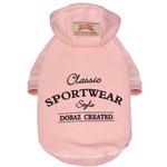 View Image 1 of Dobaz Sportwear Dog Hoodie - Pink